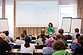 Wikimedia Hackathon Vienna 2017-05-19 Humanities, social sciences and wikis 006.jpg