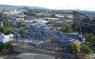 Wild Mouse roller coaster - Wild Mouse at Hershey Park