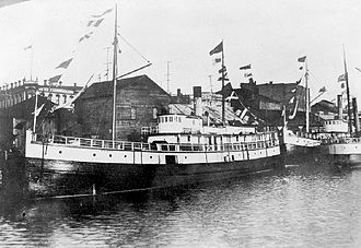 General Miles - Willapa in Victoria, likely between 1897 and 1902.