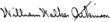 handtekening van William Walker Atkinson