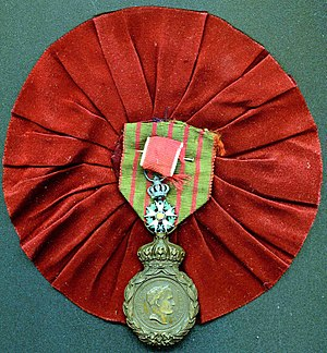 Wincenty Danilewicz - Wincenty Danilewicz (Danielewicz) French Order of Legion of Honour of February 27, 1814. Source: Masłowski family archive.