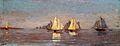 Winslow Homer - Mackerel Fleet at Dawn (1884).jpg