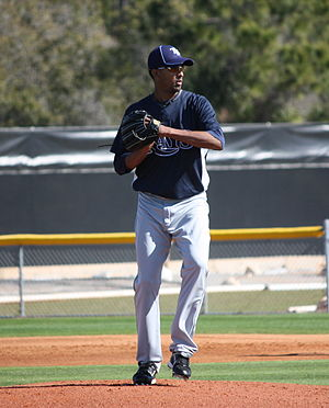 Winston Abreu - Abreu with the Tampa Bay Rays