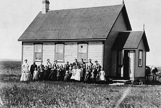Manitoba Schools Question - The Wood Lake School, 1896