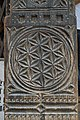 Woodcarving - South-eastern Pillar - Hidimba Devi Temple - Manali 2014-05-11 2686.JPG