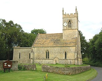 Woodeaton - Image: Woodeaton Holy Rood north