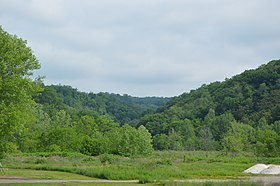 Wooded hills west of Rayland.jpg