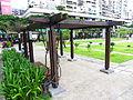 Wooden Trellises in Lin Sen Park 20101114.JPG