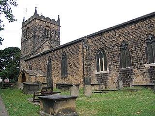 Woodkirk village in United Kingdom