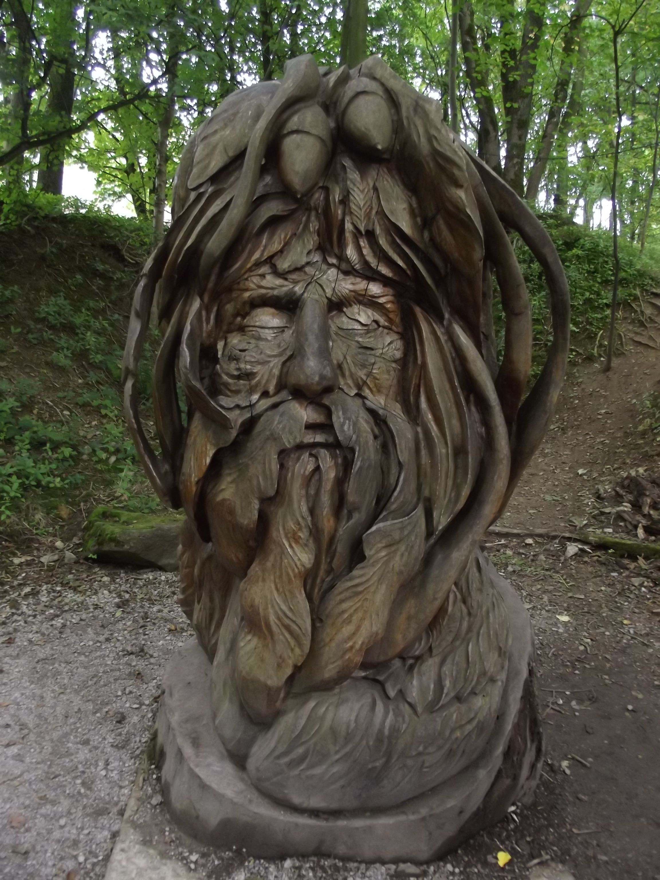 Green man at mount edgcumbe country park youtube