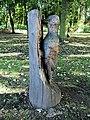 Woodpecker Sculpture In Kneller Gardens, Twickenham - London.jpg