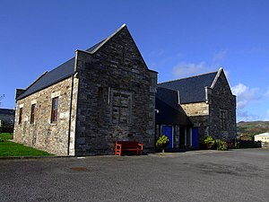 Irish Poor Laws - This former workhouse is located in Dunfanaghy, Donegal.