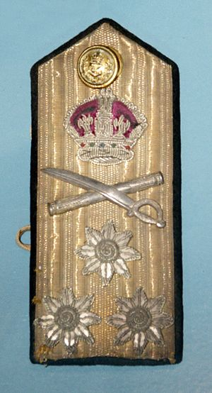 Admiral (Royal Navy) - Image: World War II Royal Navy admiral's shoulder board