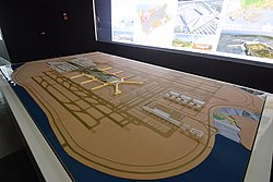 Xiamen Xiang'an International Airport building model.jpg