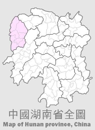 Xiangxi Tujia and Miao Autonomous Prefecture - Image: Xiangxi