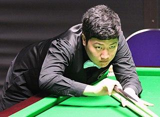Yan Bingtao Chinese snooker player