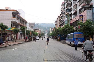 Yangshan County - Image: Yangshan 001