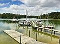 Yankee Point Marina, Corrotoman River off the Rappahannock River - panoramio.jpg