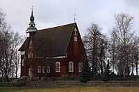 Yläne Church autumn.JPG