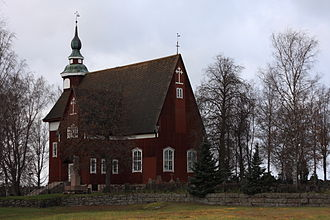 Pöytyä - Yläne Church