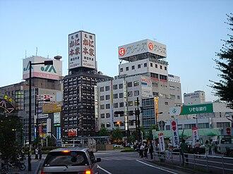 Yokkaichi, Mie - Downtown Yokkaichi