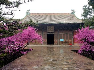 Ruicheng County - The Chunyang Hall of the Yongle Palace in Ruicheng County