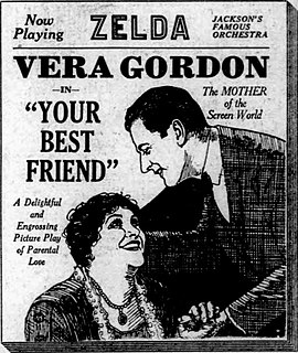 <i>Your Best Friend</i> (film) 1922 film