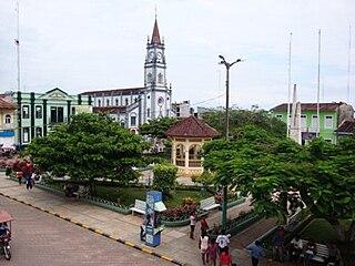 Yurimaguas Town in Loreto, Peru