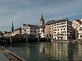 Zürich, straatzicht bij stadhuis foto3 2014-07-19 09.47.jpg