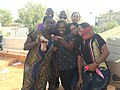 ZTE Senegal local staff is taking selfie.jpg