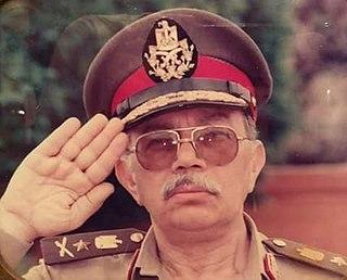 Zaher Abd El-Rahman Egyptian general