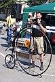 Zbraslav 2011, ukázka bicyklů, Kohout.jpg