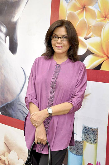 Zeenat Aman at Areopagus spa launch