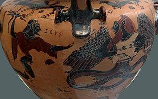 Typhon Deadly monster of Greek mythology