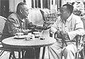 Zhu De and Ye Jianying in Zhongnanhai.jpg