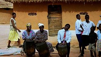 Music of Zimbabwe - Ngoma drums in Zimbabwe