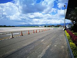 Zona de pistes de l'Aeropuerto Cadete FAP Guillermo del Castillo Paredes de Tarapoto.jpg