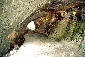 """Basque witch trials - The """"Cave of the Witches"""" near Akelarre in Zugarramurdi."""