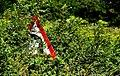 """Bend to left"" sign near Lisburn - geograph.org.uk - 2030595.jpg"