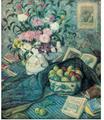 """""""Florero con plátanos, limones y libros"""", Juan Echevarría.PNG"""