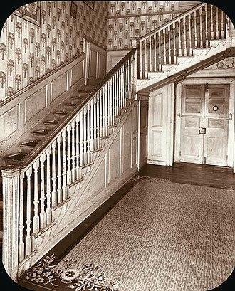 "Samuel Washington - ""Harewood,"" Samuel Washington house, designed by John Ariss in 1770, photographed by Frances Benjamin Johnston, ca. 1930s"