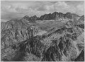 """North Palisade from Windy Point, Kings River Canyon (Proposed as a national park),"" California, 1936., ca. 1936 - NARA - 519932.tif"