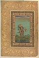 """""""Red-Headed Vulture"""", Folio from the Shah Jahan Album MET DP246554.jpg"""