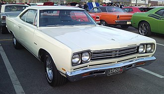 Plymouth Road Runner - 1969 Plymouth Road Runner hardtop