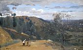 'Outskirts of Igny' by Corot, Cincinnati Art Museum.JPG