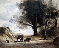 'The Stonecutters', oil on canvas painting by Jean-Baptiste-Camille Corot.jpg