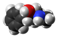(1S,2R)-Ephedrine molecule from xtal spacefill.png