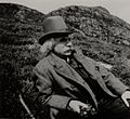 (Edvard Grieg hiking on Løvstakken) (3469866829).jpg