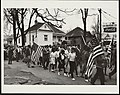 (Participants, some carrying American flags, marching in the civil rights march from Selma to Montgomery, Alabama in 1965) (LOC) (15356484611).jpg