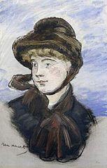 Girl in Brown Hat
